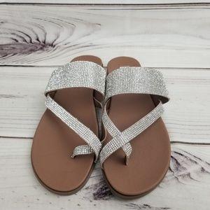 Steve Madden Glitter sandal size 8